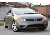 2006 Galaxy Gray Metallic Honda Civic LX Coupe #73751038