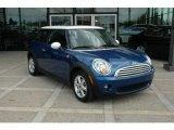 2007 Lightning Blue Metallic Mini Cooper Hardtop #7356921