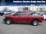 2012 Deep Cherry Red Crystal Pearl Dodge Ram 1500 ST Quad Cab 4x4 #73750603
