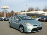 2012 Sea Glass Pearl Toyota Prius 3rd Gen Two Hybrid #73750736