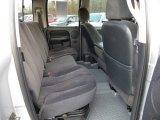 2002 Dodge Ram 1500 SLT Quad Cab 4x4 Rear Seat