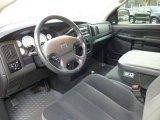 2002 Dodge Ram 1500 SLT Quad Cab 4x4 Dark Slate Gray Interior