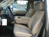 2012 Ford F250 Super Duty XLT Regular Cab 4x4 Adobe Interior