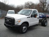 2013 Ford F350 Super Duty XL Regular Cab Dually Chassis Data, Info and Specs