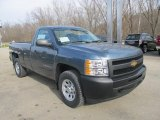 2013 Chevrolet Silverado 1500 Blue Granite Metallic