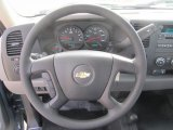 2013 Chevrolet Silverado 1500 Work Truck Regular Cab 4x4 Steering Wheel