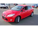 2012 Race Red Ford Focus SEL 5-Door #73750588