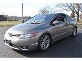 2007 Galaxy Gray Metallic Honda Civic Si Coupe #73750883