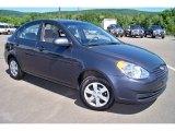 2009 Hyundai Accent GLS 4 Door Front 3/4 View