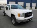2013 GMC Sierra 2500HD Extended Cab 4x4 Chassis Data, Info and Specs