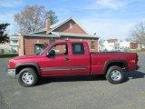 2004 Sport Red Metallic Chevrolet Silverado 1500 Z71 Extended Cab 4x4 #73751108