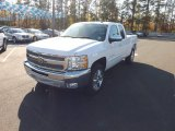 2013 Summit White Chevrolet Silverado 1500 LT Extended Cab #73750987