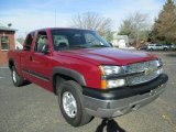 2004 Chevrolet Silverado 1500 Z71 Extended Cab 4x4 Front 3/4 View