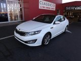 2013 Snow White Pearl Kia Optima SX Limited #73750832
