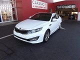 2013 Snow White Pearl Kia Optima SX Limited #73750831