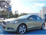 2013 Ginger Ale Metallic Ford Fusion Hybrid SE #73808468