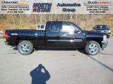 2013 Black Chevrolet Silverado 1500 LT Extended Cab 4x4 #73808592