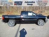 2013 Black Chevrolet Silverado 1500 LT Extended Cab 4x4 #73808591