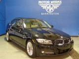 2011 Jet Black BMW 3 Series 335d Sedan #73808328