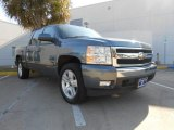 2008 Blue Granite Metallic Chevrolet Silverado 1500 LT Crew Cab #73808994
