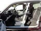 2008 Chevrolet Silverado 1500 LT Extended Cab 4x4 Light Titanium/Ebony Accents Interior