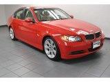 2006 Electric Red BMW 3 Series 330i Sedan #73808837