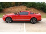 2011 Race Red Ford Mustang Shelby GT500 SVT Performance Package Coupe #73809076
