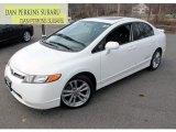 2007 Taffeta White Honda Civic Si Sedan #73808282