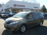 2012 Cypress Green Pearl Toyota Sienna LE #73808967