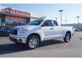 2013 Super White Toyota Tundra SR5 Double Cab 4x4 #73808553