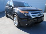 2013 Tuxedo Black Metallic Ford Explorer XLT #73808676