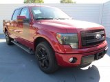 2013 Ruby Red Metallic Ford F150 FX2 SuperCrew #73808672