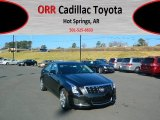 2013 Black Diamond Tricoat Cadillac ATS 2.0L Turbo Luxury #73808783
