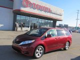 2011 Salsa Red Pearl Toyota Sienna LE #73808513
