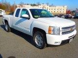 2013 Summit White Chevrolet Silverado 1500 LTZ Extended Cab 4x4 #73808938