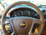 2013 Chevrolet Silverado 1500 LTZ Extended Cab 4x4 Steering Wheel