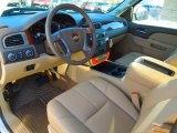 2013 Chevrolet Silverado 1500 LTZ Extended Cab 4x4 Light Cashmere/Dark Cashmere Interior