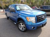 2010 Blue Flame Metallic Ford F150 STX SuperCab #73808744