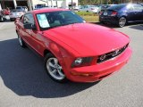 2007 Torch Red Ford Mustang V6 Premium Coupe #73808741