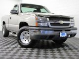 2004 Silver Birch Metallic Chevrolet Silverado 1500 Regular Cab 4x4 #73808871
