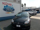 2013 Tuxedo Black Ford Focus S Sedan #73866731
