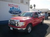 2010 Vermillion Red Ford F150 XLT SuperCrew #73866755