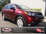 2013 Basque Red Pearl II Honda CR-V EX-L AWD #73866655