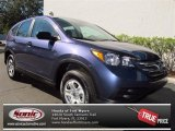 2013 Twilight Blue Metallic Honda CR-V LX AWD #73866654