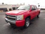 2011 Victory Red Chevrolet Silverado 1500 LS Crew Cab #73866823