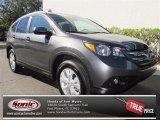 2013 Polished Metal Metallic Honda CR-V EX-L AWD #73866652