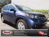 2013 Twilight Blue Metallic Honda CR-V EX-L #73866651