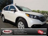 2013 White Diamond Pearl Honda CR-V EX-L #73866650