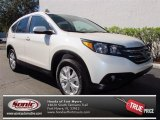 2013 White Diamond Pearl Honda CR-V EX-L #73866649