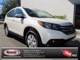 2013 White Diamond Pearl Honda CR-V EX-L #73866648